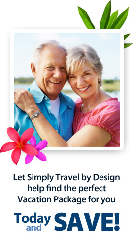 Let Simply Travel by Design help find the perfect Vacation Package for you